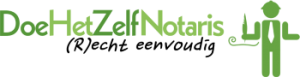 Logo van DoeHetZelfNotaris
